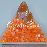 Стразы ss30 Crystal Electric Orange DeLite 50шт, (6.5мм)