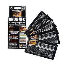 Салфетки для ухода за оружием Brunox Gun Care 5шт в коробке