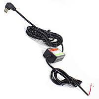 Автозарядное Lesko 12V-5V внутренний правый угловой MiniUSB для навигатора планшета Черный (1190-9221)