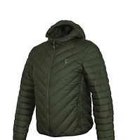 Куртка демисезон Fox Collection Quilted Jacket Green Silver