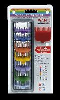 Набір кольорових насадок Wahl, 8 шт + підставка 4503-7171 (03170-417)
