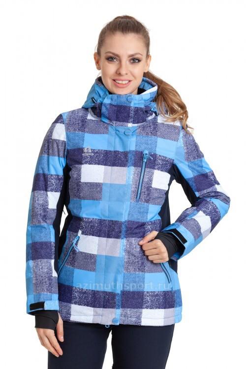Женская горнолыжная куртка AZIMUTH синий
