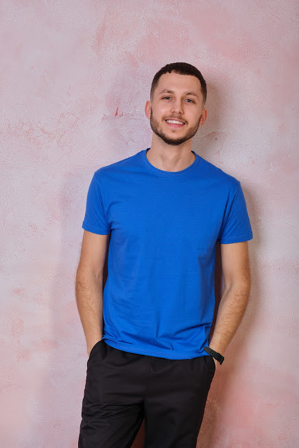 Мужская футболка JHK REGULAR T-SHIRT цвет синий (RB)