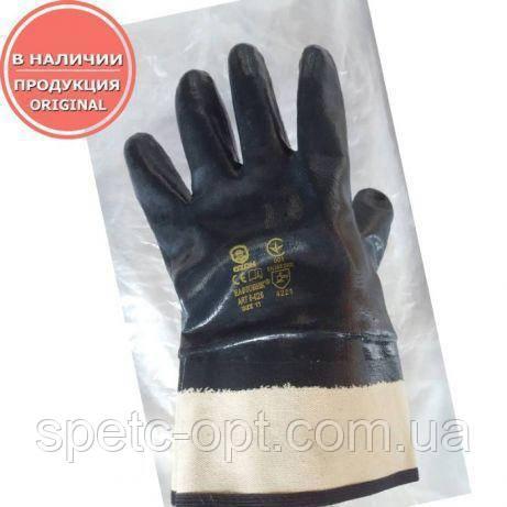 Перчатки резиновые МБС Нафтовик, рабочие перчатки МБС, бензомаслостойкие перчатки.