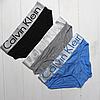 Женские слипы Calvin Klein оптом модал 5 цветов на широкой резинке, фото 3