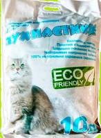 Наполнитель силикагелевый  для кошачьего туалета Пушистики 10 кг
