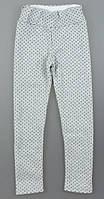 Лосины модные на меху   для девочки 122/140 см