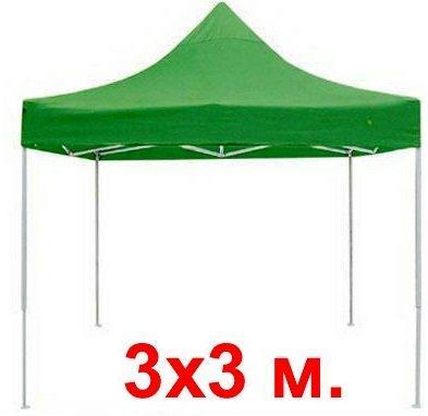 Палатка тент 3*3 палатка гармошка зеленая - Раздвижная уличная палатка