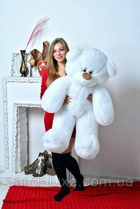 Мягкая игрушка плюшевый медведь белый мишка 135см, фото 2