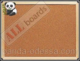 """Пробкова дошка 40x30 см в дерев'яній рамі TM """"ALL boards"""""""