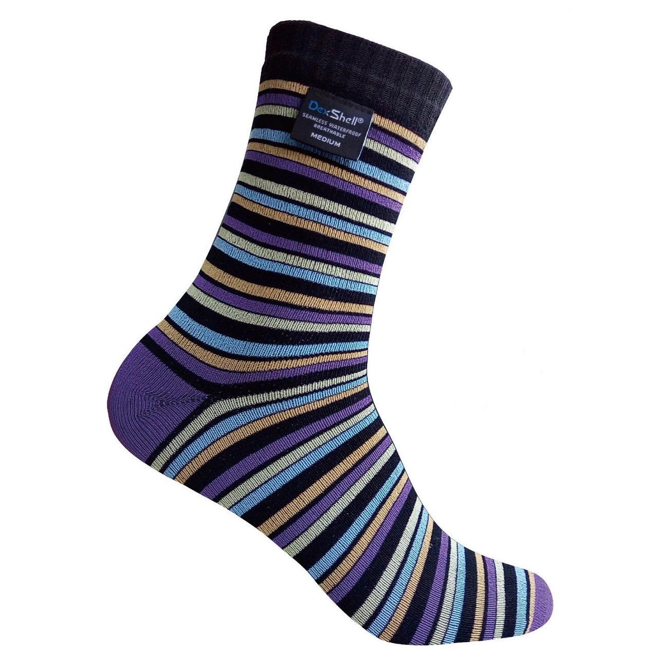 Носки водонепроницаемые Dexshell Ultra Flex Socks Stripe M  в полоску