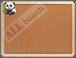 """Пробкова дошка 80х50см в дерев'яній рамі TM """"ALL boards"""""""