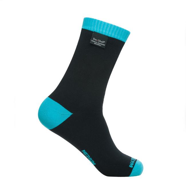 Носки водонепроницаемые Dexshell Coolvent Lite Aqua Blue S