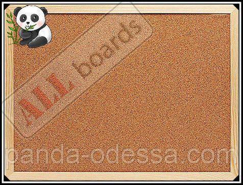 """Пробковая доска 120х90см в деревянной раме TM """"ALL boards"""""""