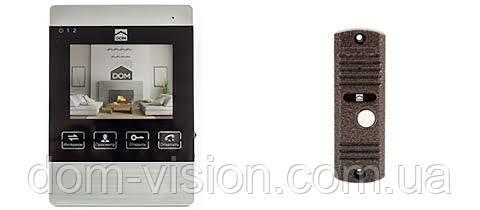 Видеодомофон DOM DS-4S + панель вызова