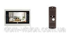 Видеодомофон DOM DS-7TS+ панель вызова DOM CS02 c витрин, фото 3