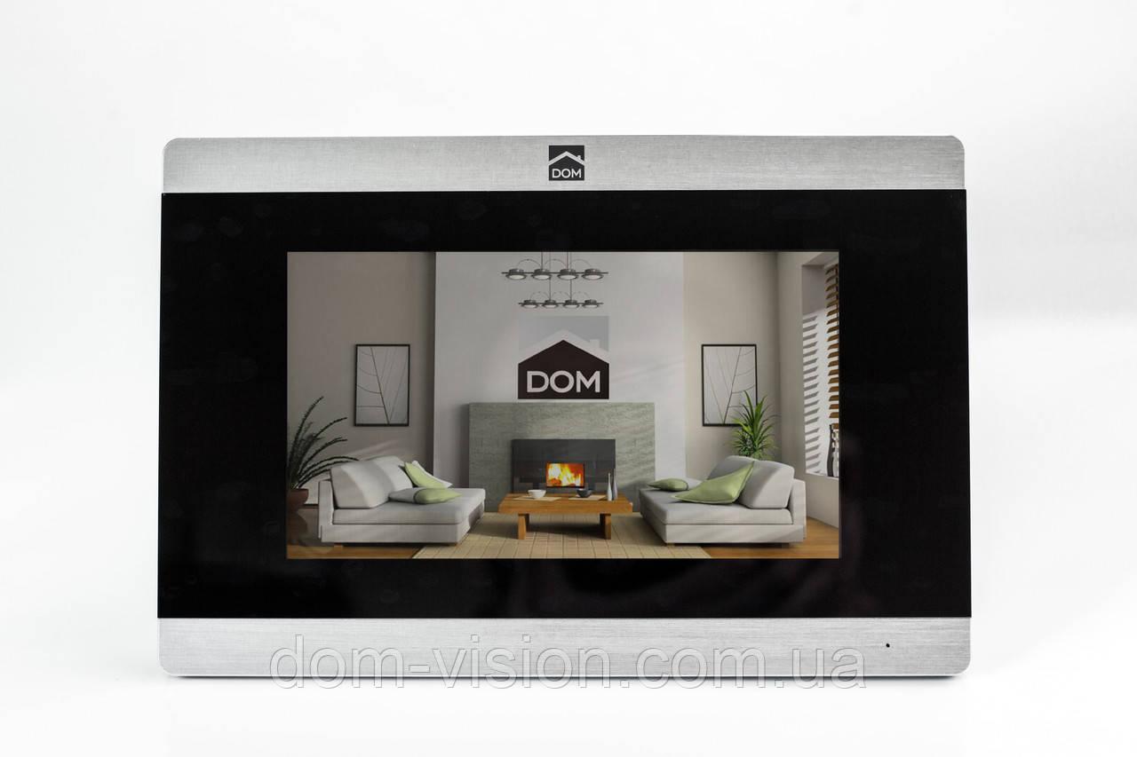 Видеодомофон DOM DS-7TS+ панель вызова DOM CS02 c витрин