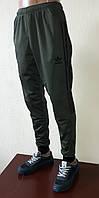 Спортивные штаны мужские с манжетами, зауженные