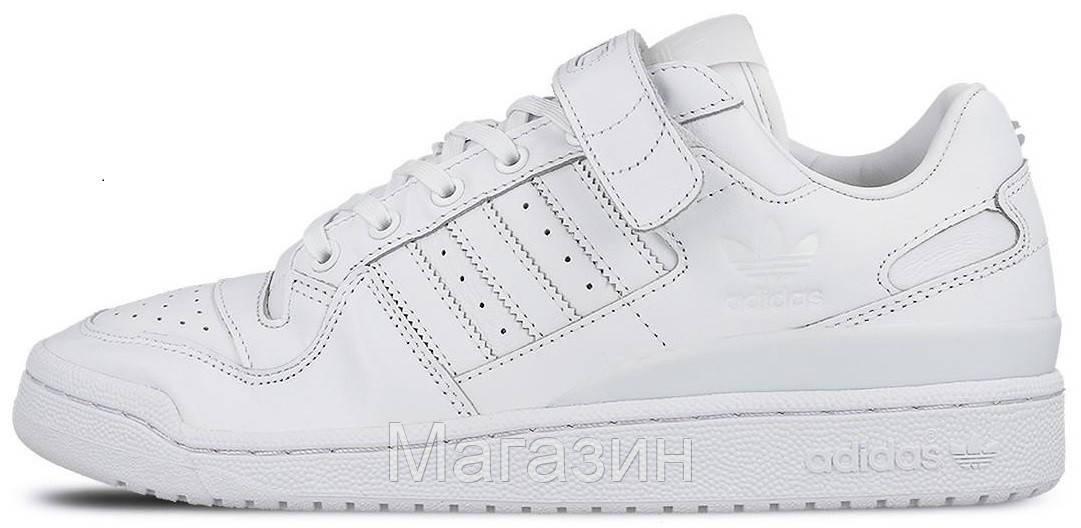Мужские кроссовки adidas Forum Originals Lo White Адидас Форум белые