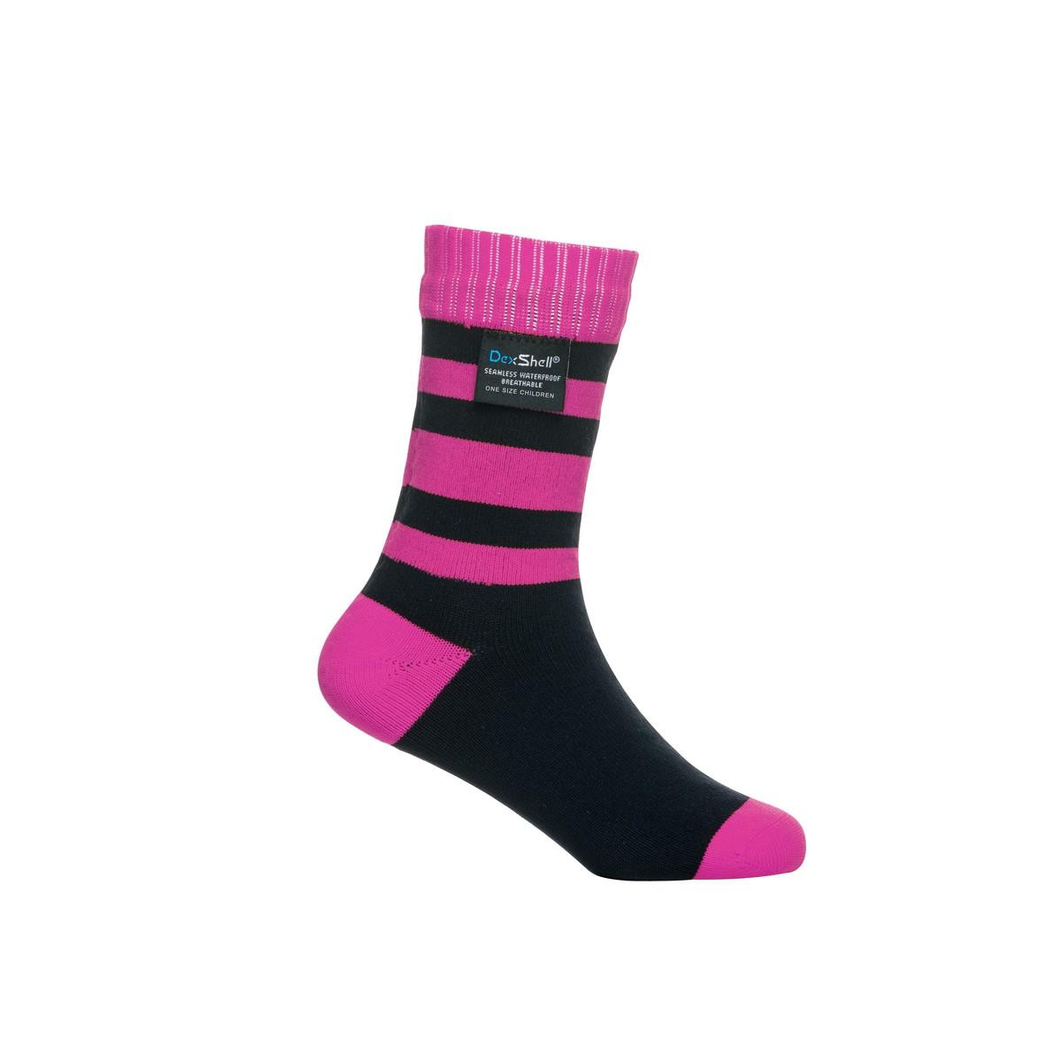 Носки водонепроницаемые Dexshell Children soсks pink S  детские розовые