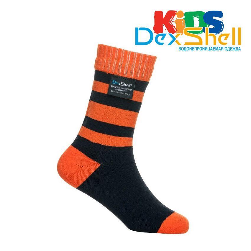 Носки водонепроницаемые Dexshell Children soсks orange S  для детей оранжевые