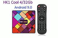 Оригинальная Смарт приставка HK1 Cool 4Gb/32GB Android 9.0 Smart TV Box, фото 1