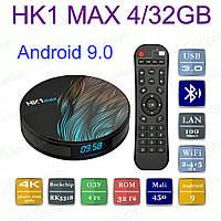 Оригинальная Смарт приставка HK1 MAX 4/32GB Android 9.0 Smart TV Box