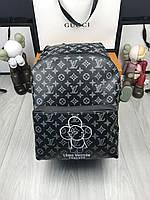 Рюкзак Louis Vuitton | Стильный рюкзак Луи Виттон | Черный мужской рюкзак Louis Vuitton | сумка Луи Виттон