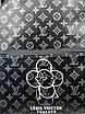 Кожаный рюкзак Луи Виттон   Стильный рюкзак Луи Виттон  Черный мужской женский рюкзак Луи Виттон большой, фото 3