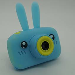 Детский цифровой фотоаппарат Smart Kids Cam TOY 9 PLUS Rabbit Blue