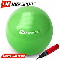 Фітбол Hop-Sport 65cm green + насос