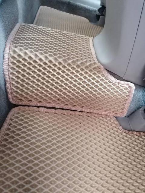Наши коврики EVA в салоне Honda Accord 8 '08-12 (Американец). -1