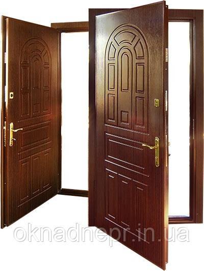 Двери входные металлические с МДФ