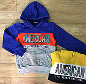 Пайта на флисе с капюшоном для мальчика Grace American (р.98,104,116,128)
