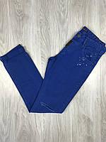 Джинсы Dolce Gabbana|Мужские ярко-синие джинсы Дольче Габбана