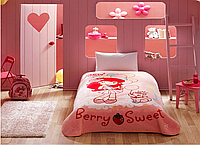 Детский плед TAC Strawberry Berry Sweet полуторного размера