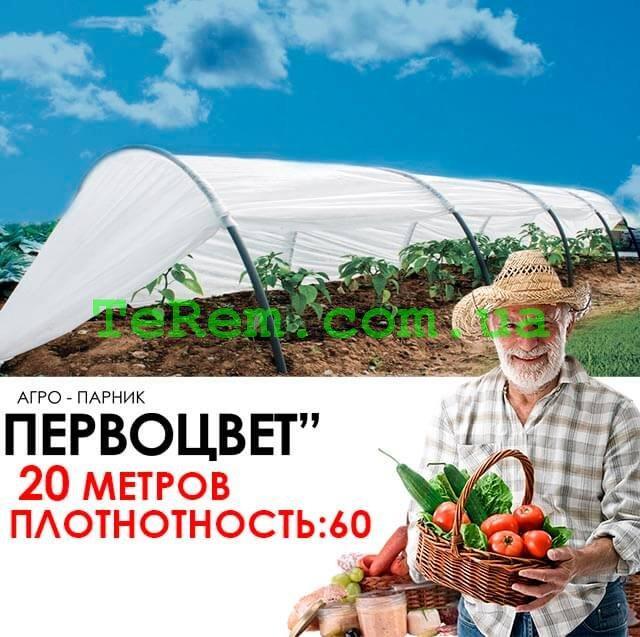 Парник Kospa Первоцвет 20 м 42 плотность