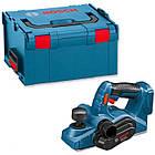 Аккумуляторный рубанок Bosch GHO 18V-LI в L-Boxx, фото 4