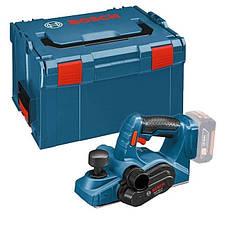 Акумуляторний рубанок Bosch GHO 18 V-LI L-Boxx