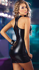 Латексное платье, фото 2