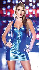 Латексное платье, фото 3