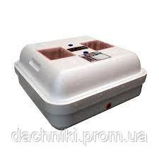 """Инкубатор """"Рябушка-2"""" 70 яиц, механический переворот, литой корпус, аналоговый терморегулятор, тен"""