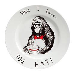 Керамическая круглая тарелка С Днем Рождения UKC Top 20.5 см (frs_122156)