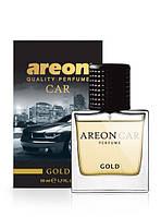 """Ароматизатор для автомобіля AREON """"Perfume"""" Gold 50ml (парфуми)"""