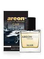 """Ароматизатор для автомобиля AREON """"Perfume""""  Silver 50ml (парфюм), фото 1"""