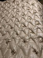 Ковдра вовняна стьобана двоспальне з овечої вовни