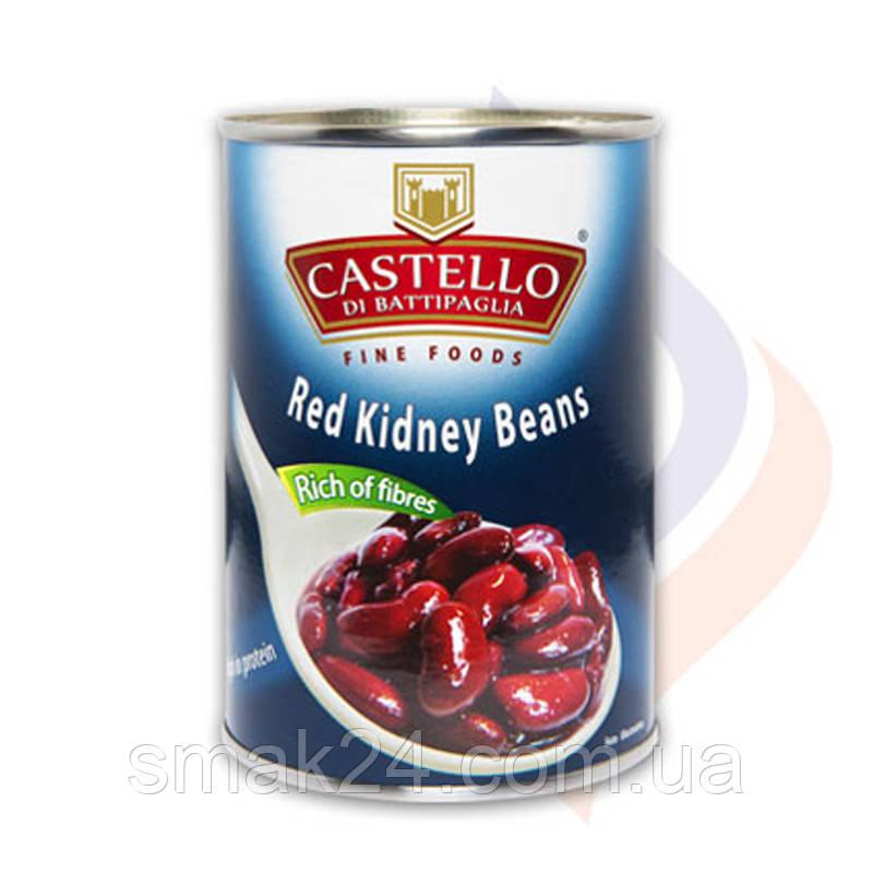 Фасоль красная Castello Red Kidney Beans 400г Италия