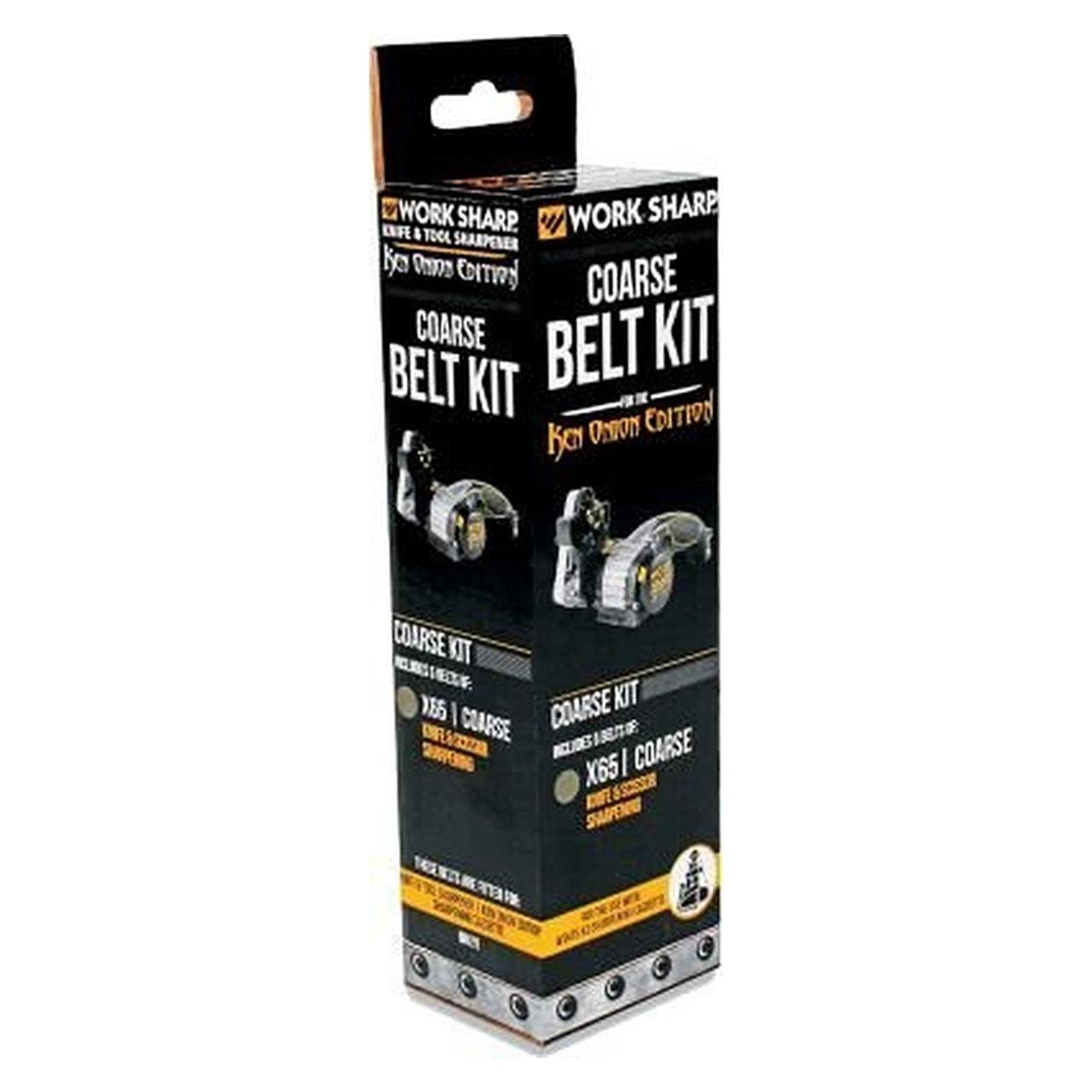 Work Sharp Набір змінних ременів 5шт Belt Kit for X65 Coarse PP0003206
