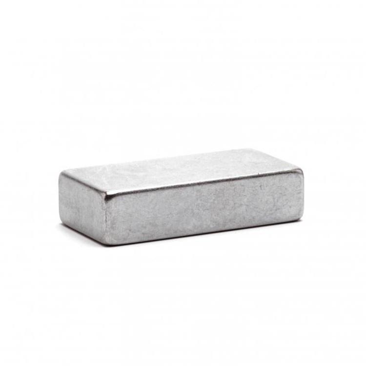 Магнит неодимовый 40х20x10 прямоугольный