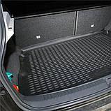 Коврик в багажник  NISSAN Qashqai 2014- (полиуретан), фото 2